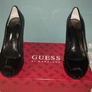 Guess by Marciano Black Platform Shoes